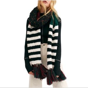 Free People Nova Tassel Scarf in Autumn